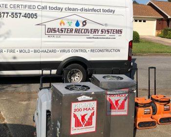 water-restoration-company-van